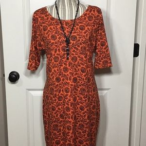LulaRoe Julia Dress - XL